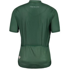 Maloja PlansM. Breeze Shortsleeve Bike Jersey Herren stone pine
